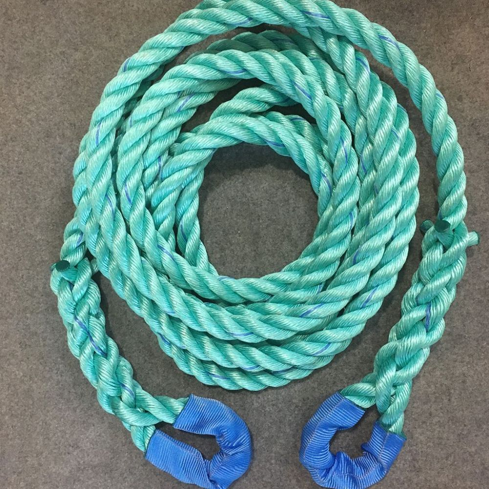 6mtr 28mm Polysteel High Tenacity Tow Rope